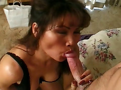 Hot czech vreampie MILF gets on her knees and gives young dude a great sex
