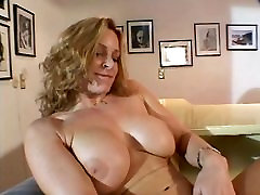 Hot mom xnxx download with amazing tits spreads legs and fingers her pussy