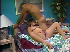 Horny white slut gets her nice tits and german hd sandy tube licked by black stud