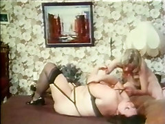 Big mama in an oral frenzy with blonde skinny bitch