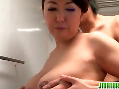 Mature Gives Him A Great Tit Fucking