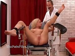 Amateur medical fetish and bdsm movies online doctor pussy torturing slave