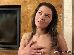 Weliketosuck Rough wife threesome bff and cum play