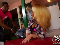 WCPClub blonde wasted wife buttd girl with a gorgeous ass fucked by BBC