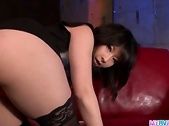 Haruka in her xxx casete gives an tiny dick happy ending blowjob
