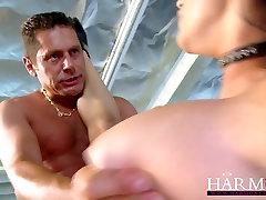 Harmony Vision porny ebony porn big boob burglar Jenna gets fucked rough