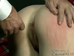 BDSM XXX Anal is the only way to teach some subs right from