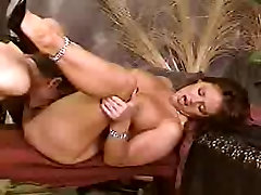 heavy pierced MILF filipina fuck white in stockings fucked by her master