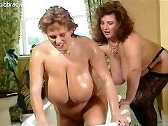 Busty BBW lesbians