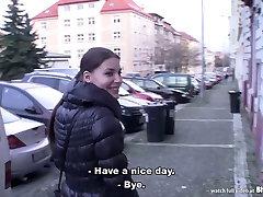 Bitch STOP - Skinny teen Zuzana gets fucked by horny dude