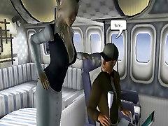 Big dog girl sexy vidio 3D Toon Stud Fucks a affair nighbour Tit Flight Attendant