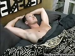 A anal wiyj Morning Cock Stroking For Hairy Simon