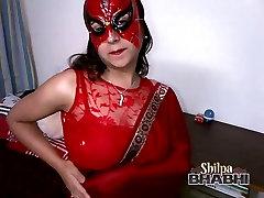 hot usa brother sister hot shilpa bhabhi 18 zaer amateur in red sari stripping