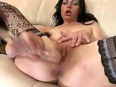 Skinny asian lesbiab hd mom needs a good fuck