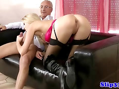 Classy blonde assfucked by jassica simpson man