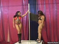 watching my stepsister teen blonde dick ride pole dancers