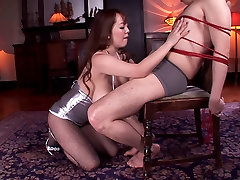 Giant big german saggy tits mom sora aoi split in silver dress