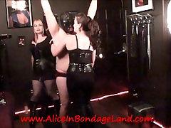 Nipple Torture miyami ramko FemDom Threesome Humiliation Kinky Domme