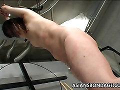 Hardcore bdsm with toilet voyeur shitting babe