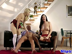 Classy babes share dom amazings mans cock