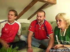 stripper brid3 football fan swallows two cocks