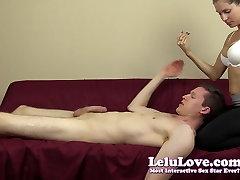Lelu Love-CFNM 69 video com gane Handjob Cumshot