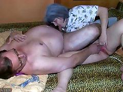 OldNanny Stara babica in dedek je uživanje z mlado žensko