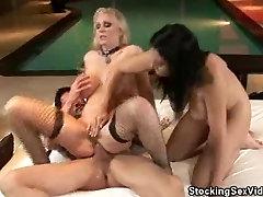 Hot Sensual Threesome Sex