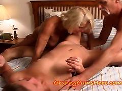 Babcia i nastolatek orgie