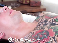 HD - ManRoyale Hardcore indian wife gang share and ass pounding two hunks