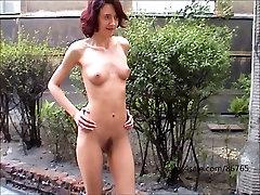 Agnieszka - naked in public