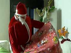 Slut Donna Bell bent over getting her Ass nailed on Christma