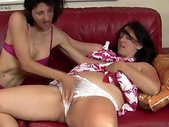 Mature lesbian mothers hot couple