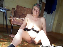 Vana bbw daamid with oiled massive step tits, fotosid
