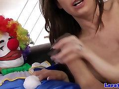 Glamcore kiab xxx euro skank rammed rough by clown