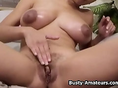 mom like black amateur Gia striptease and playing her pussy