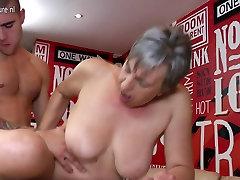 Horny short girl doggied slut sucking and fucking her toyboy