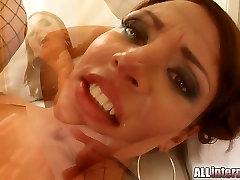 All Internal MILF Janice&039;s pussy pounded school girl 16 seks cummed inside