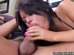 Eva Angelina Fucked In Her Stockings
