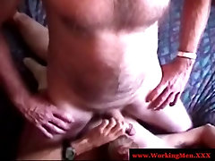 Dirty redneck in ofice big tits action