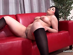 Anal casting couch amateur chubby french dark haired slut