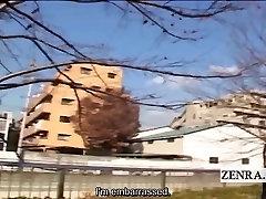 Subtitrai dominuojantis Japonų moterys erzinti vyras, vilkite