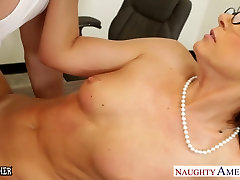 Tiny titted anal eating and squirt India Summer fuck her young student
