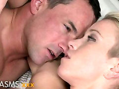 ORGASMS Gorgeous blonde Licky Lex sucking and riding dick