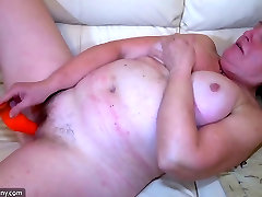 OldNanny Old ladies masturbating and girl fucking with guy