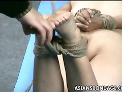 Asian lass is hanging around during her lesbian mom dhoter session