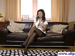 Naughty euroslut in 18 movie hd auditions with great pov bj
