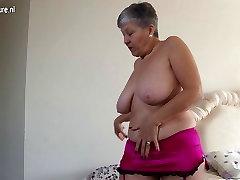 Pohoten big zapenjanje Britanski zrela dama, pridobivanje poredna