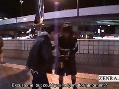 Ar subtitriem extreme Japānas valsts blowjob neapbruņotu suši