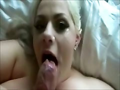 fbbw creamy pussy with Monster hind sex vidosu Sucks Monster Cock